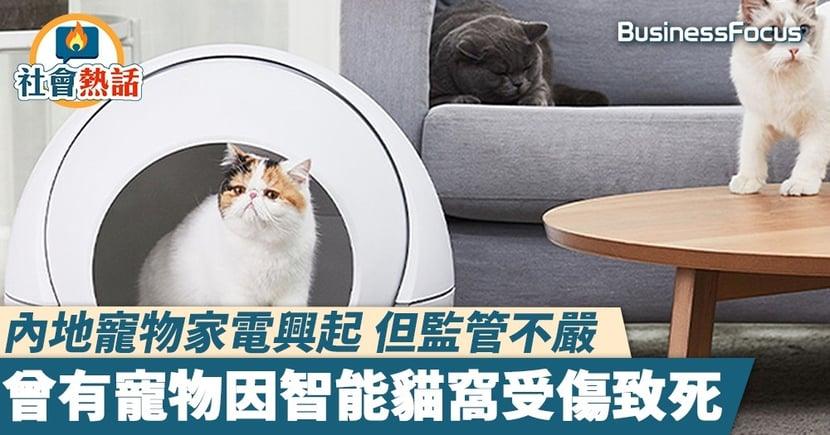 【寵物電器】內地寵物家電興起 但監管不嚴 曾有寵物因智能貓窩受傷致死
